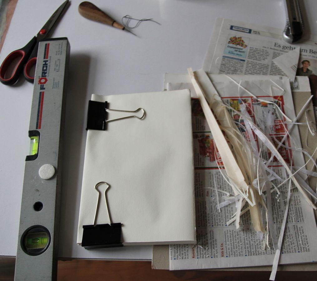 Buchblock schneiden